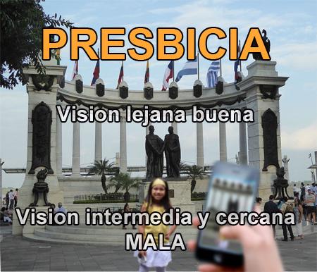 PRESBICIA PAGINA